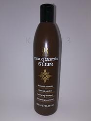Шампунь для волос с маслом макадамии и коллагеном RR Line 350мл