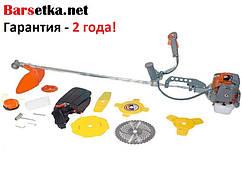 Коса бензиновая Ижмаш Industrial Line GT-4350 (5 ножей (2Т, 3Т,3Т,8Т,40Т победит), 2 катушки)