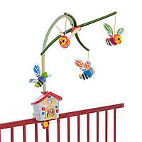 Механический мобиль на детскую кроватку Chicco Пчелиный домик разноцветный - 67099.00