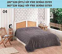 Махровая Простынь Евро GULCAN ESTER Турция Плотность 600 Двуспальный Евро, Темно-серый