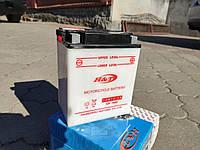 Мото аккумулятор H&T 12V 14Ah/20HR ( 12N14-3A )