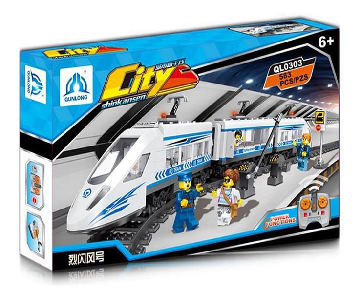 Поїзд на радіокеруванні Qunlong QL0303