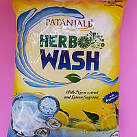Стиральный порошок гипоаллергенный с Нимом и Лимоном Патанджали, Herbo Wash Patanjali, 1 кг