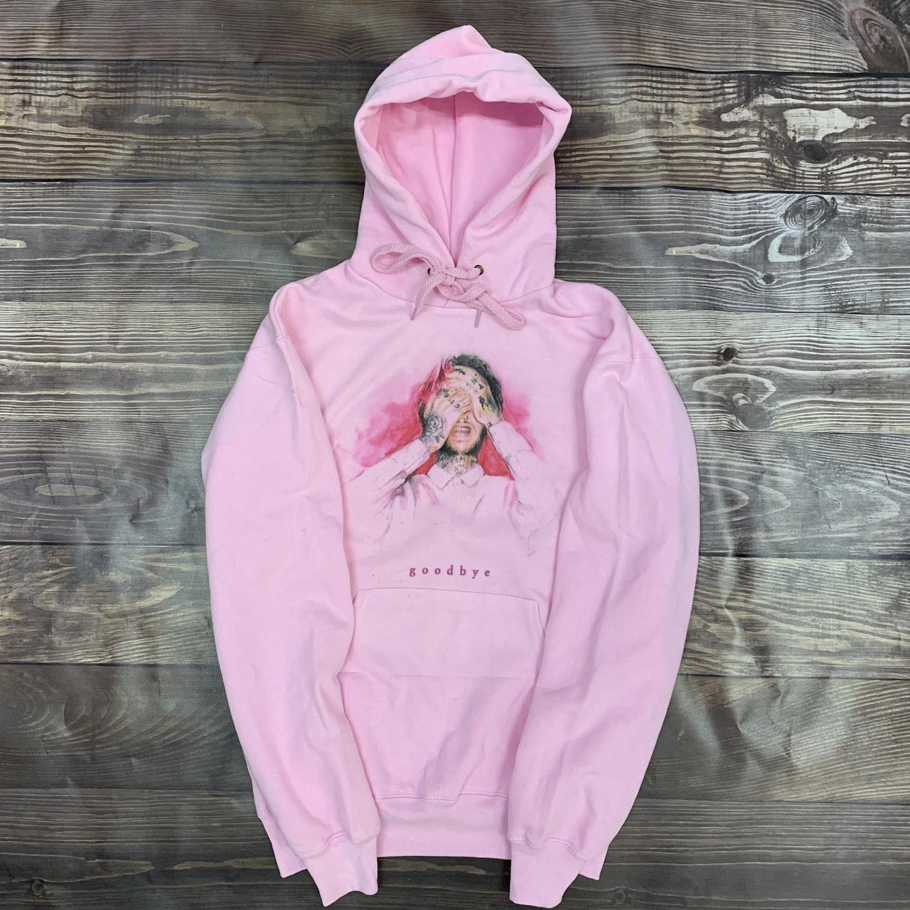 Худи A SHO Lil Peep S розовый