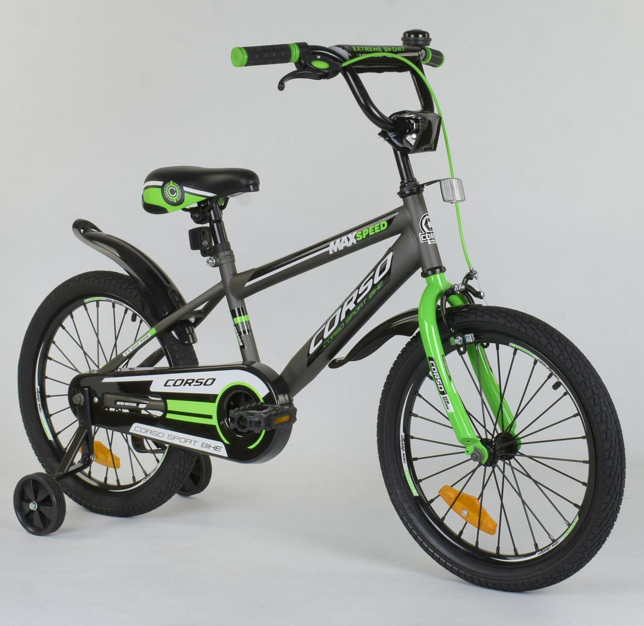*Велосипед 2-х колёсный CORSO (18 дюймов ) арт. 1015