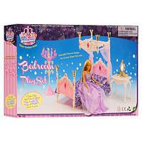 Набор мебели для куклы Барби «Спальня» арт. 1214