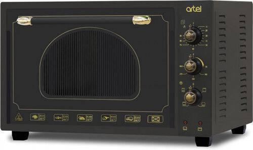 Электродуховка ARTEL MD-3618L Retro Black (36л,конвекция,подсветка,4 режима), фото 2