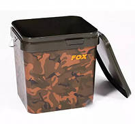Ведро FOX (Фокс) Camo square bucket 10L (CBT006)