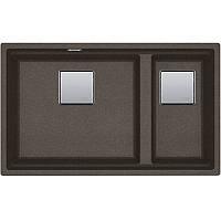 Кухонная мойка гранит под столешницу Franke KNG 120 super metallic двойная медно-серый (мпс) (125.0599.045)