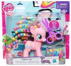 Купить Игровые фигурки, роботы трансформеры, Детский Игровой Набор Для Девочек Пинки Пай с прической и ножницами Pinkie Pie My little pony Hasbro Хасбро