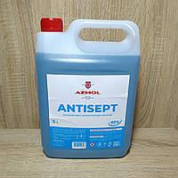 Антисептик (обеззараживатель,дезактиватор, дезинфектор) для рук 5 л (пр-во Azmol)