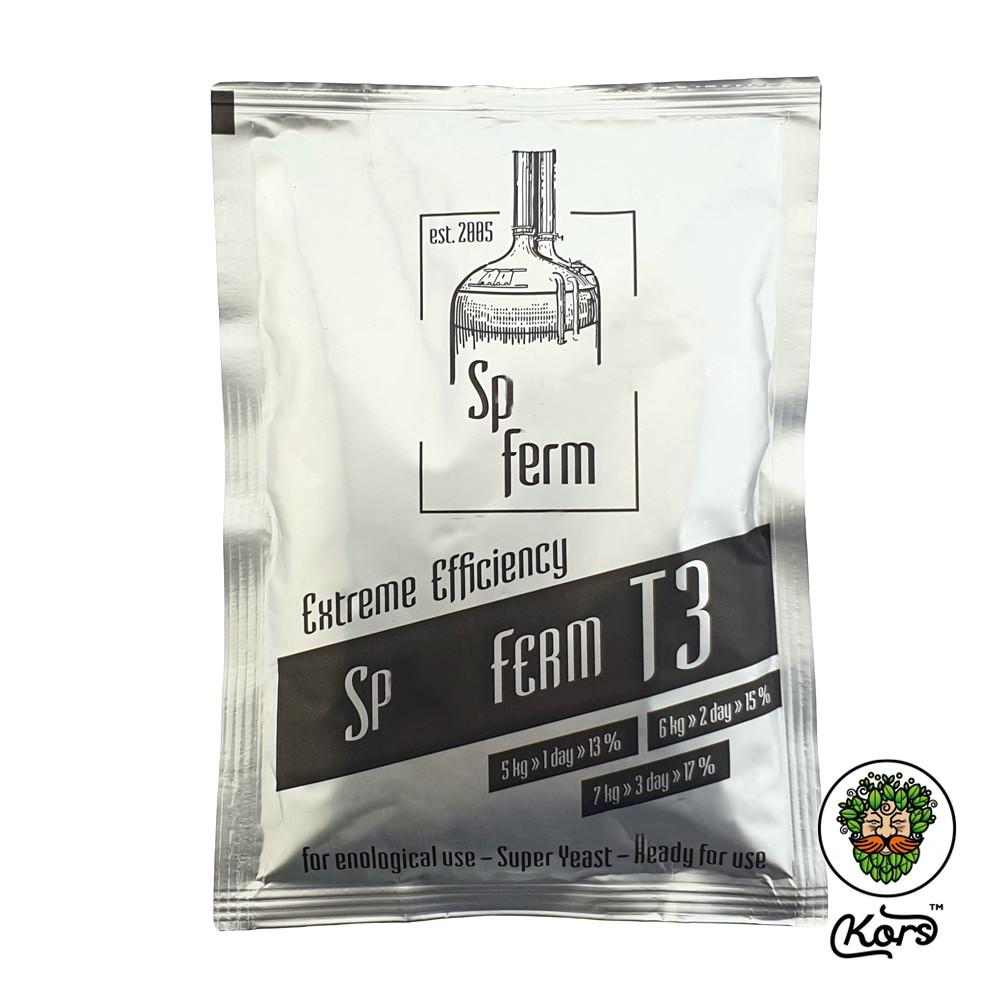 Сухие турбо дрожжи Sp. Ferm Т3
