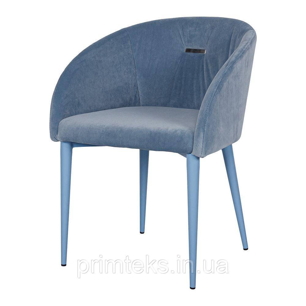 Кресло ELBE (Эльбе) голубое