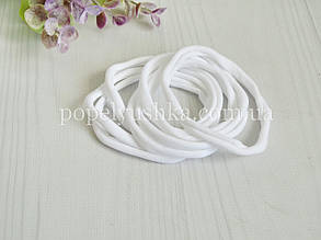Резинка нейлонова one size біла