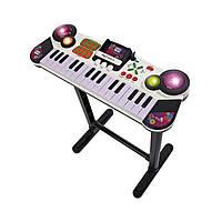 Детский Игровой Развивающий Музыкальный Инструмент Синтезатор Клавишная Парта с МР3, режим записи Simba Симба