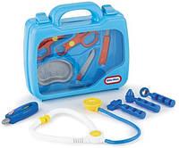 Детский Развивающий Игровой Набор Доктора в Чемодане голубой 10 инструментов Little Tikes Литтл Тайкс