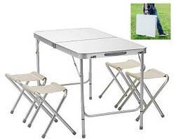 Стіл Складной Для Пікніка + 4 стільця