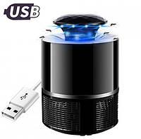 Лампа ловушка для комаров уничтожитель насекомых 5 Вт USB Mosquito Killer Lamp, фото 1