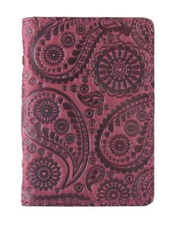 """Обложка-органайзер для ID паспорта / карт, коллекция """"Buta Art"""". Цвет фиолетовый"""