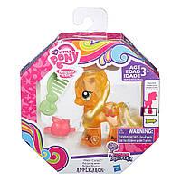 Детская Игрушка Для Девочек Май Литл Пони Эпплджек с блестками Cutie Mark Magic My Little Pony Hasbro Хасбро