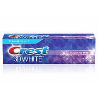 Crest Комплексна відбілююча і захищає зубна паста 3D White Toothpaste Radiant Mint