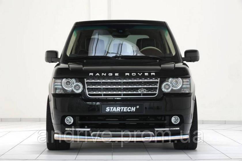 Защита переднего бампера (ус одинарный) Land Rover Range Rover Vogue (2002-2012)