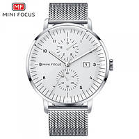 Мужские часы Mini Focus MF0052G в стальном цвете