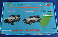 Хром пакет на  Toyota Land Cruiser Prado 90