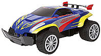 Детская Игрушка Для Мальчиков Машинка на радиоуправлении с шасси с пружинами  12 км/ч Blue Speeder RC Carrera