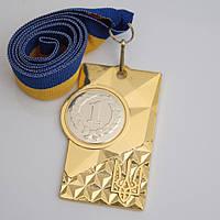 Медаль МА088 золото с лентой