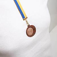 Медаль  МА1140 Бронза с лентой.