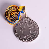 Медаль МА305 Серебро  с лентой, фото 1