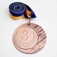 Медаль МА086 бронза с лентой