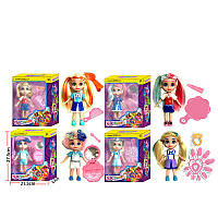 "Кукла ""H"" 4 вида, с аксессуарами, в кор. 27,5*6,3*21,5см /72-2/ (33410)"