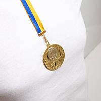 Медаль МА 2750  Золото с лентой.