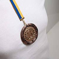 Медаль Д8Д Бронза с лентой.
