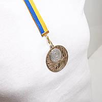 Медаль  МА 2750  Серебро с лентой.