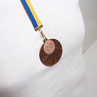 Медаль МА 2950  Бронза с лентой.