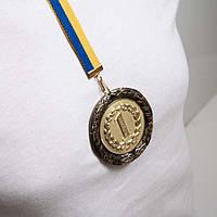 Медаль Д8Д Золото с лентой.
