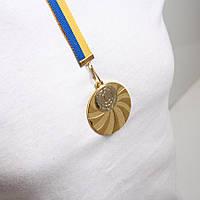 Медаль МА 2950  Золото с лентой.