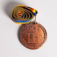 Медаль MA 195 Бронза с лентой