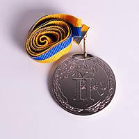 Медаль MA 195 Серебро с лентой.