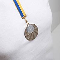 Медаль МА 2950  Серебро с лентой.