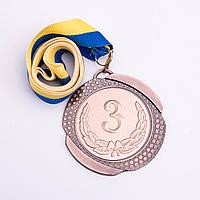 Медаль МА 082 Бронза с лентой