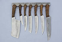 Набор кухонных ножей ручной работы