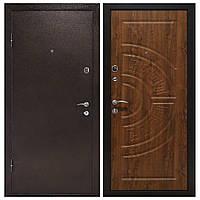 Дверь входная Министерство Дверей мет/мдф ПУ-08 Дуб золотой 2050х860мм левая