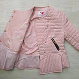 Куртка демисезонная для девочки ЭКОкожа р. 140, 158, фото 2