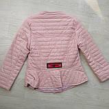 Куртка демисезонная для девочки ЭКОкожа р. 140, 158, фото 3