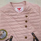 Куртка демисезонная для девочки ЭКОкожа р. 140, 158, фото 5