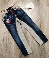 Детские джинсы на резинке для мальчика  размер 104 на 4 года  Турция код 12456